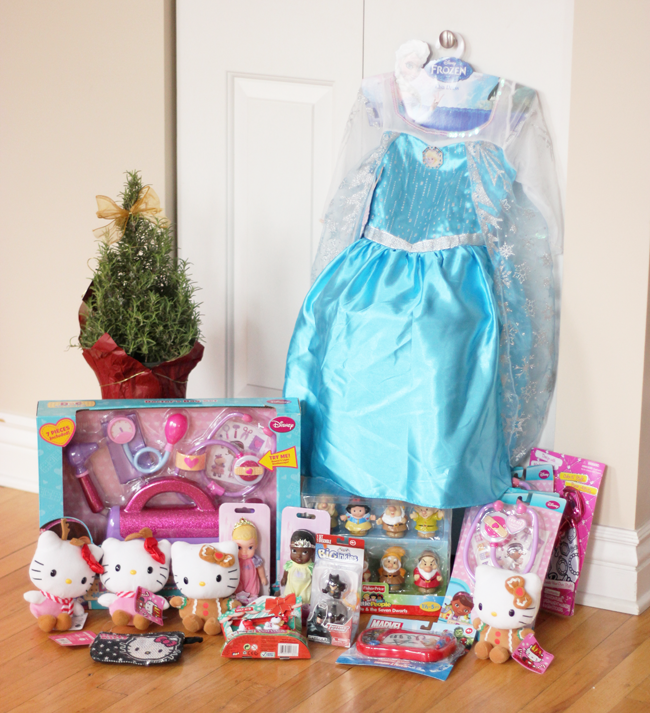Toys For Tots- Donating Hello Kitty, Frozen, Snow White & Marvel …it's going to be a fun Christmas