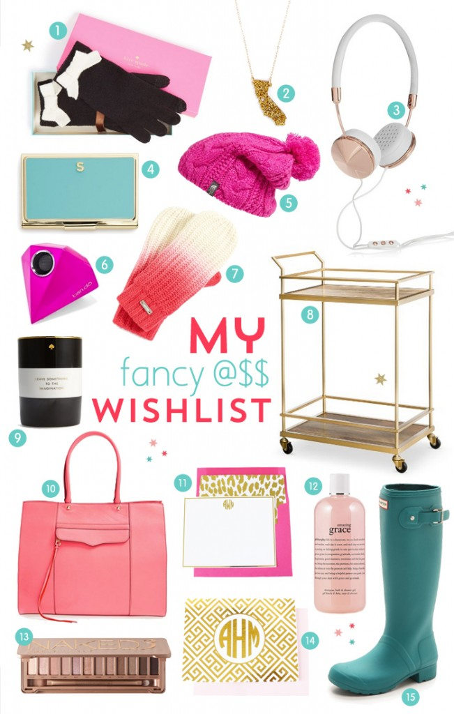 My fancy ass Christmas wishlist - I've been good this year, I swear!