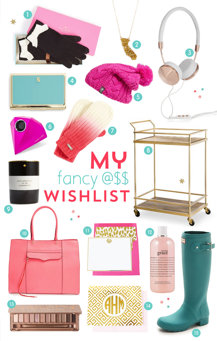 Things To Ask For For Christmas Teenage Girl: My Fancy A$$ Christmas Wishlist