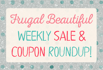 Frugal Beautiful's weekly sale & coupon roundup - your one stop to snag the best deals on women's fashion.
