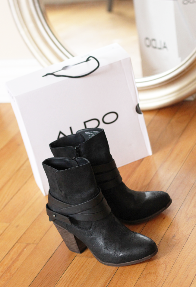 ALDO boots from DSW  #Shoelovers #DSWShoelovers