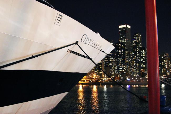 Entertainment Cruises Chicago Odyssey Yacht
