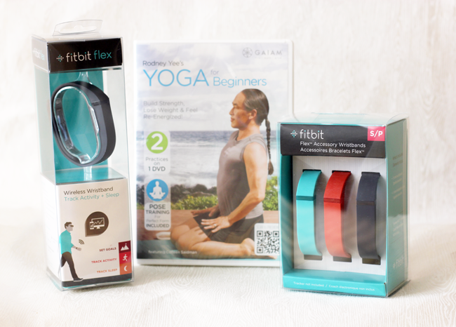 FitBit Activity Tracker & Yoga for Beginners from Gaiam- my health resolutions for 2015!