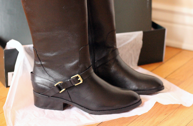 Ralph Lauren Riding Boots for Winter from DSW