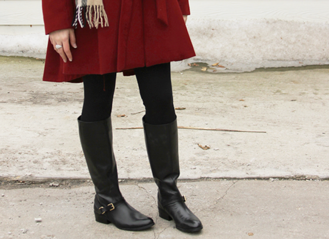 Styling Riding Boots for Winter from DSW