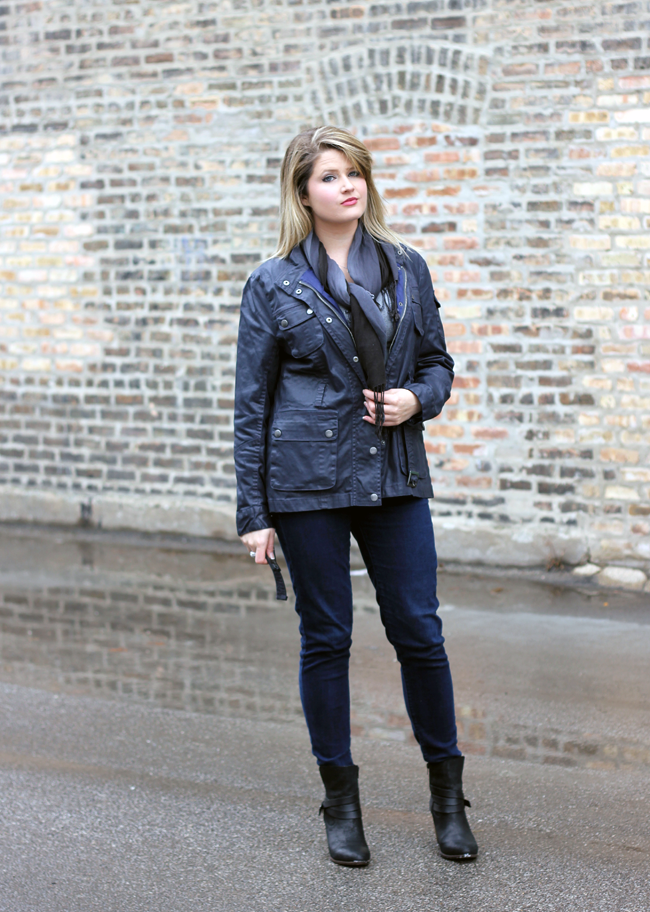 Winter Style with ALDO Boots, winter jacket & scarf #DSW #DSWShoeLover