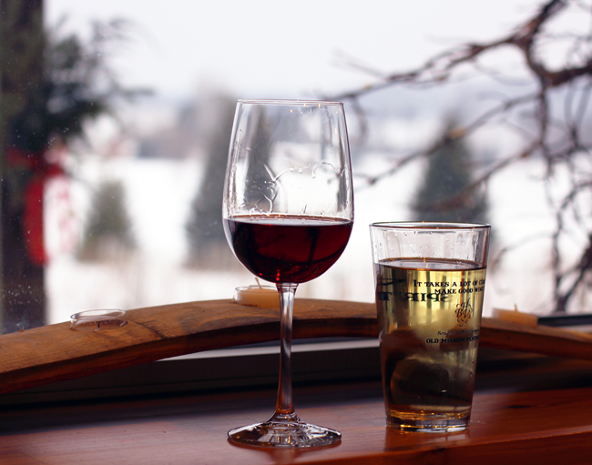 Bowers Harbor Vineyards Traverse City Michigan Winter 2015