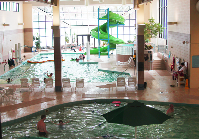 Grand Traverse Resort and Spa Review - The pool area is fabulous