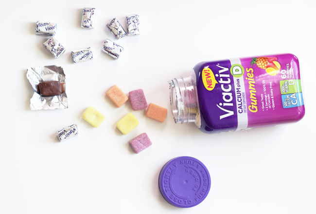 Viactiv gummies and chews for delicious, healthy living