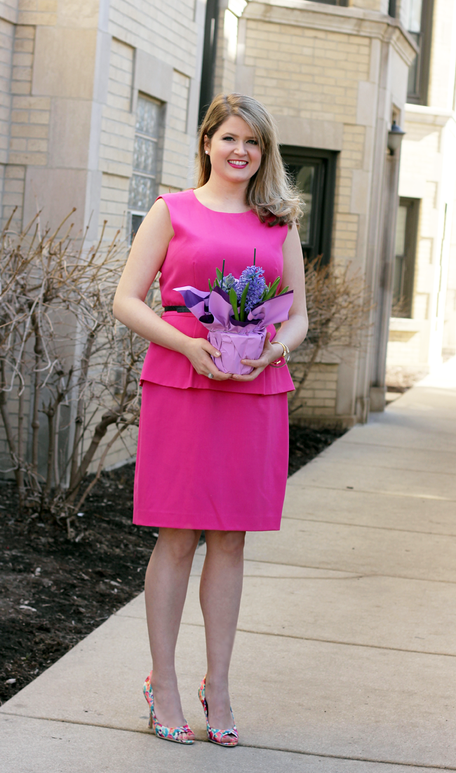Easter Sunday Style with Payless…love these watercolor pumps!