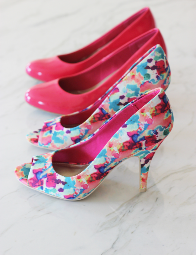 Spring style from Payless!  These pumps are under $30 and so perfect for spring!