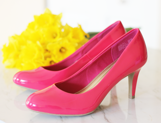 Style + Comfort with Payless Shoes…love these pumps for spring 2015!