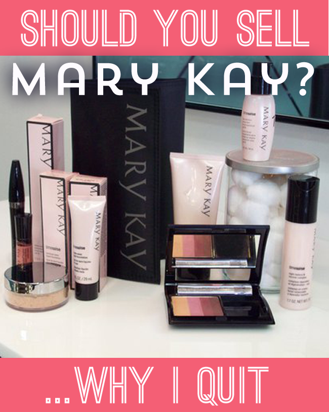 Thought about joining Mary Kay?  One story with selling that may help you make your decision