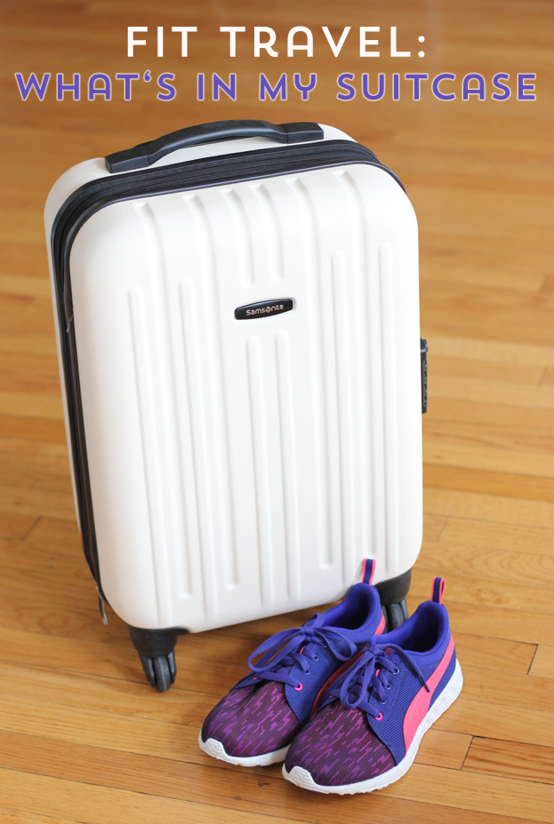 Traveling?  It can easily undo any fit habits you have, but it doesn't have to!  I try and pack smart so fun travel doesn't unravel my fitness routine!  #MakeYourMove