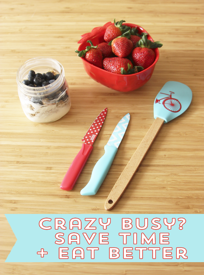 You are crazy busy. Eating healthy doesn't have to be hard or cast aside. Follow these tips to streamline your food prep and ensure you don't undo your healthy choices when times are crazy!