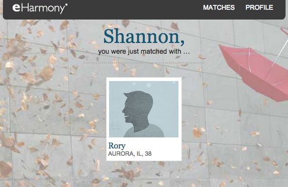 eHarmony not a fan