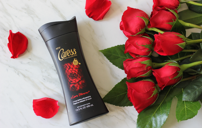 New Caress Fine Fragrances Love Forever Body Wash