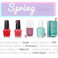 Spring Nail Shades