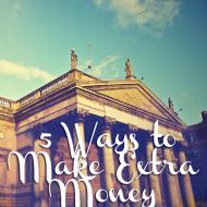 5 Ways to Make Extra Money