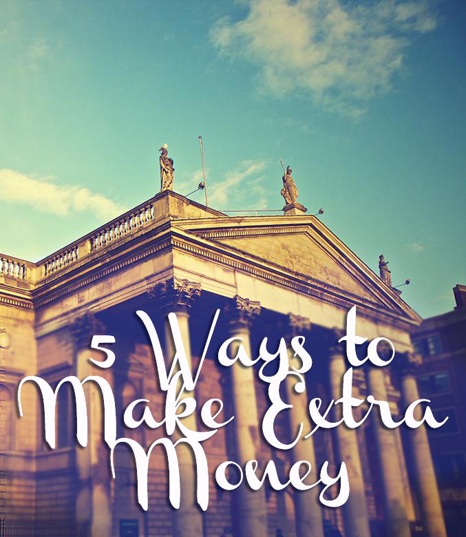 Just about everyone can use more breathing room in their bank account. These 5 ways to make extra money will give you that room!
