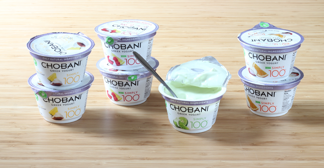 Chobani 100s for a healthy start and healthier routine