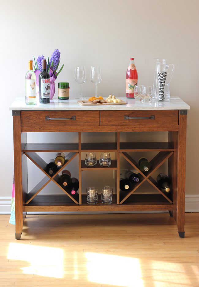 Dry Wine Bar from Sauder Furniture