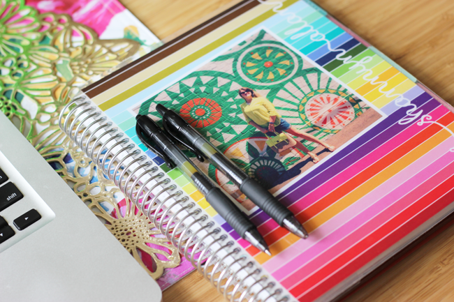 My Erin Condren Planner…my paper brain! Worth every penny.