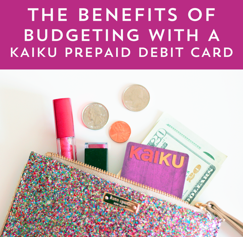 Using the Kaiku Prepaid Debit Card to set and stay on budget!