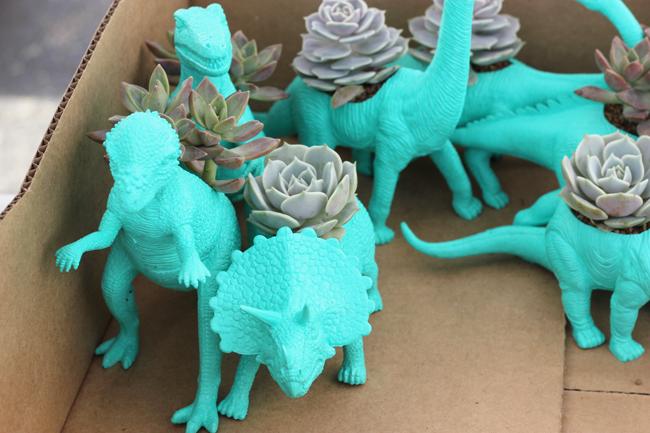 Dinosaurs Randolph Street Market