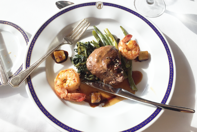 Holland America Lines Surf and Turf