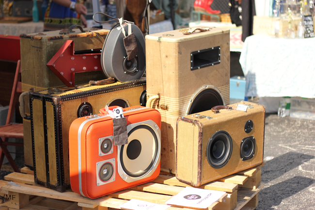 Stereo Suitcases Randolph Street Market