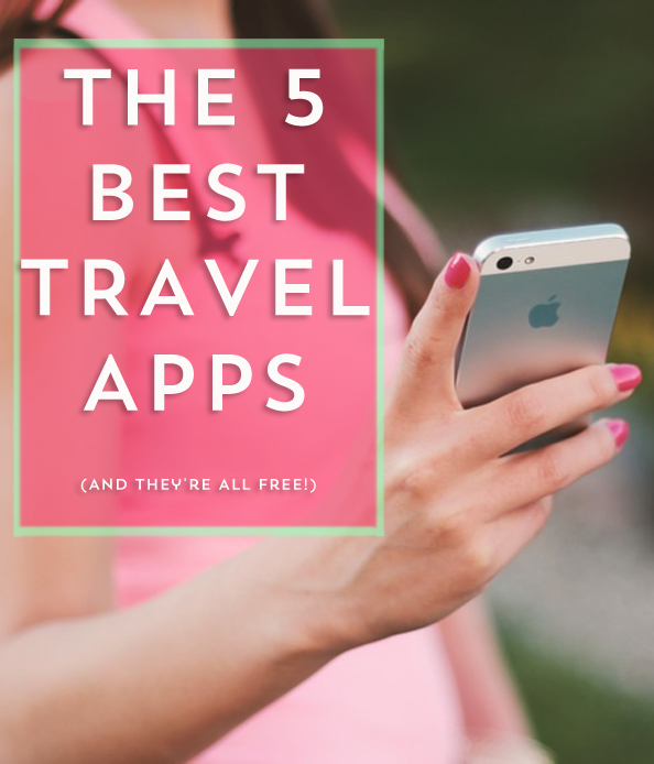 The apps you need to have when you travel- they just make traveling so much easier!