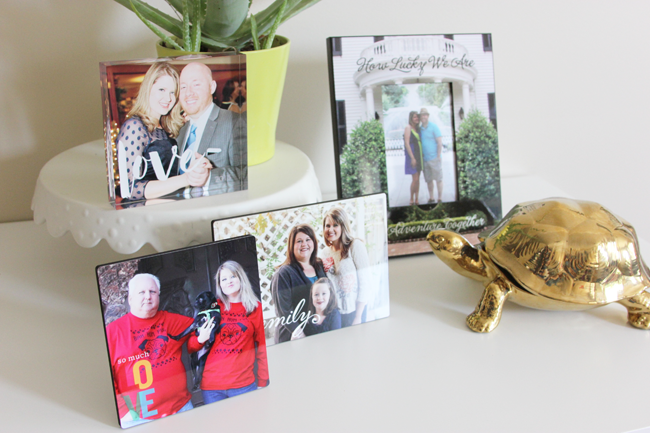 Decorating with Shutterfly
