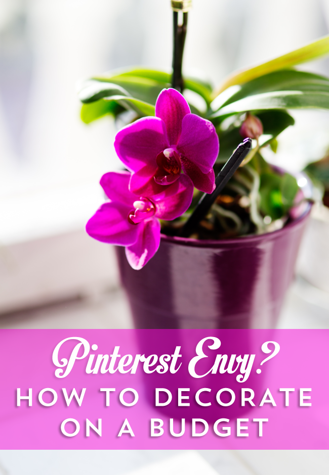 Love Pinterest but hate your budget? How to decorate like you belong on Pinterest on a tight budget for a gorgeous new space