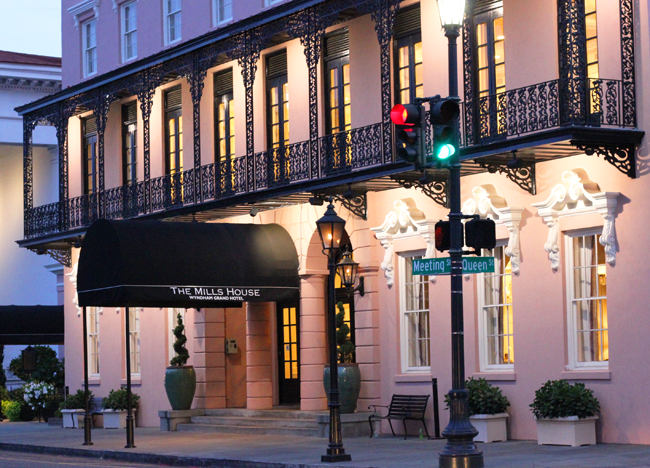 Mills House Wyndham Grand Hotel Charleston South Carolina