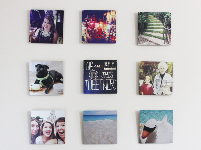 Personalizing my home with Shutterfly