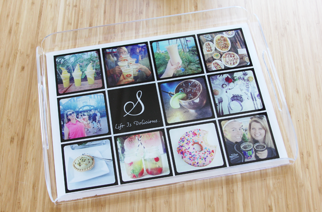 Shutterfly Personalized Serving Tray