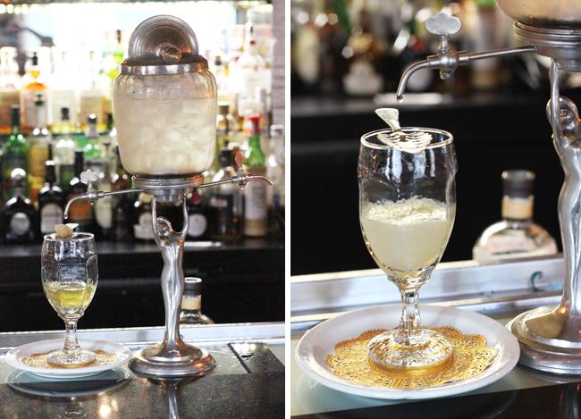 Bourbon Hotel Orleans O Bar Absinthe