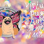 The 2015 Virtual Pug Run Puggerfly