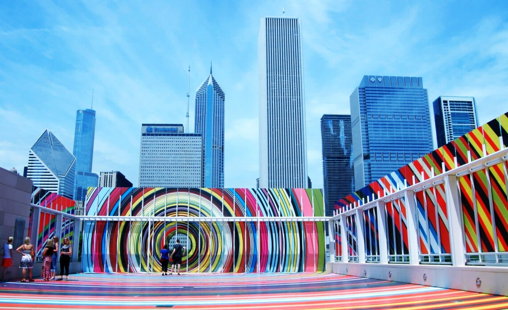 Art-Institute-of-ChicagoLurie-Garden-Millennium-Park-Chicago