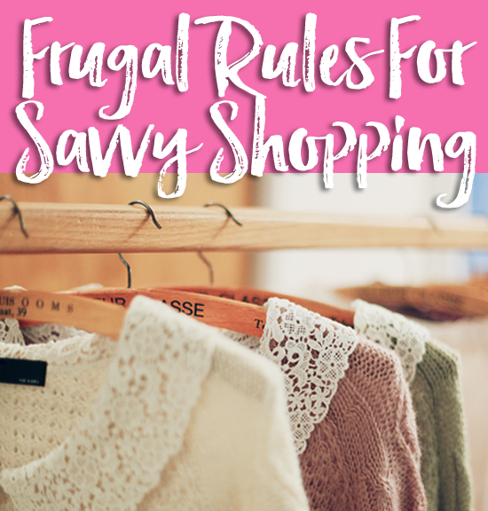 "Do you have too much ""stuff""? Here are some frugal rules I use to keep myself from overbuying, overspending and over cluttering my home."