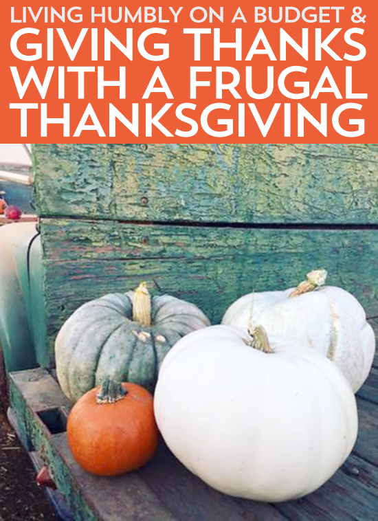 On a budget or just want to make Thanksgiving about the experience and not things? Here's some tips on how to have a meaningful, frugal Thanksgiving.