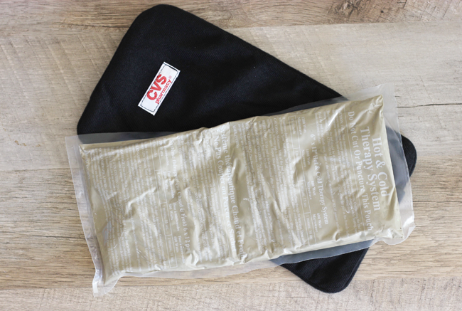 How To Stock Your First Aid Kit- You need an ice pack! Trust me on this one!