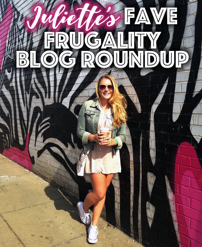 Juliette's Favorite Frugality Blogs to help you get out of debt and get inspired!
