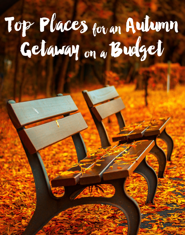 Love fall travel? The best places for a fun fall getaway on a budget!
