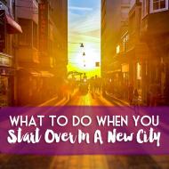 Moving to a new city where you don't know anybody? Don't be nervous, people do it all the time, and we've been there!