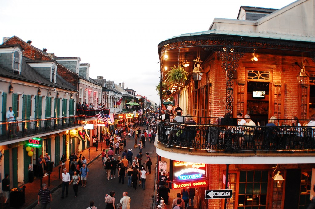 New Orleans Louisiana in Fall