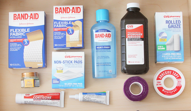 Single Ladies- How To Stock Your First Aid Kit
