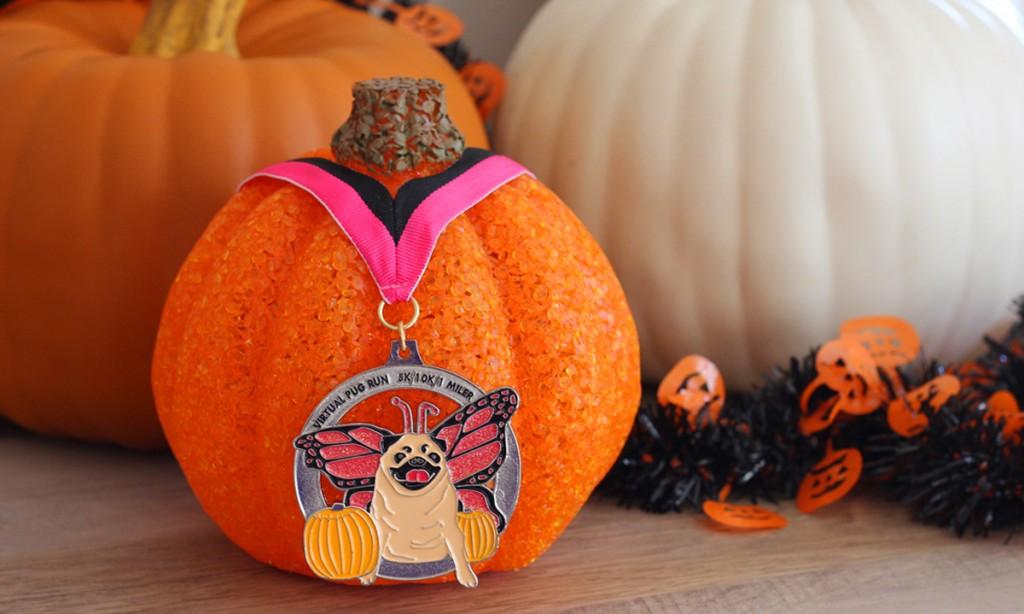 Virtual Pug Run Pumpkins 2015