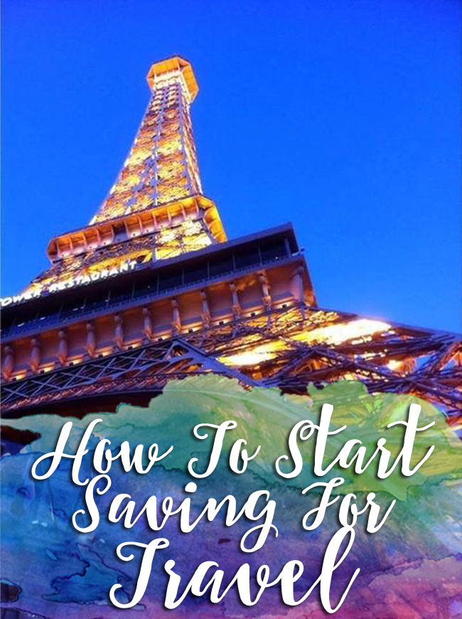 Want to see the world but not sure how you'll start saving- read on!